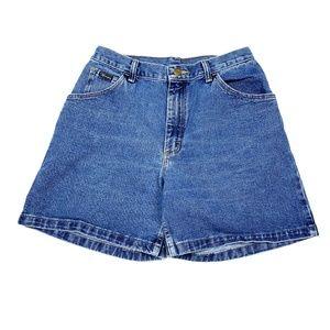 Vtg 90s Wrangler Retro High Waisted Denim Shorts